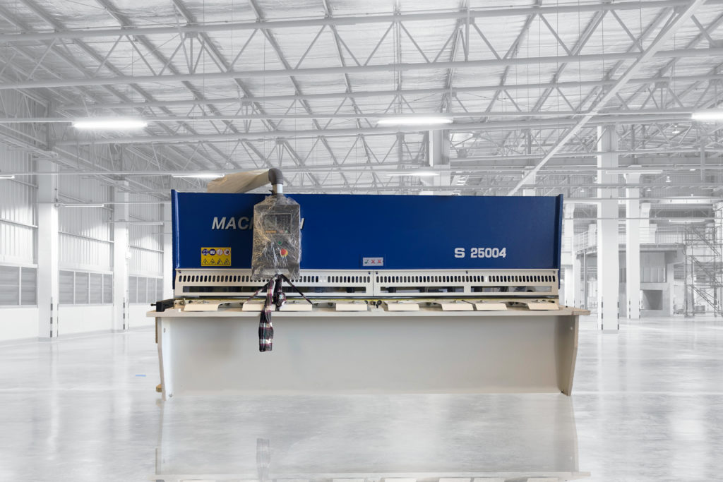 Machtech Guillotine 2.5m x 4mm